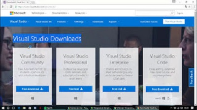 Download do Visual Studio Community 2015 Free