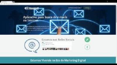 BuscaMail - Sistema de busca de e-mails na internet
